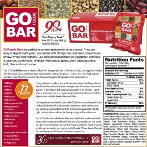Tart Cherry Zest Whole Food Mineral Bars